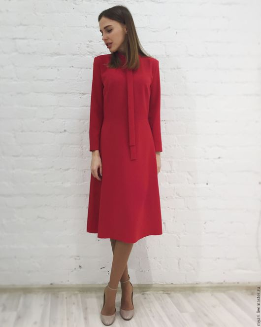 """Платья ручной работы. Ярмарка Мастеров - ручная работа. Купить Платье """"RED"""". Handmade. Разноцветный, выпускной"""