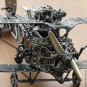 Для дома и интерьера ручной работы. Ярмарка Мастеров - ручная работа Ероплан анжинерной конструкции. Handmade.