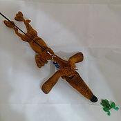 Куклы и игрушки handmade. Livemaster - original item Dachshund Skoda. Handmade.