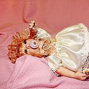"""Куклы и игрушки ручной работы. Ярмарка Мастеров - ручная работа """"Машенька"""" кукла из Fimo. Handmade."""