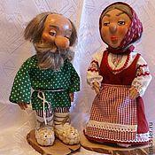 Куклы и игрушки ручной работы. Ярмарка Мастеров - ручная работа Дед и баба.. Handmade.