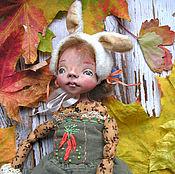Куклы и игрушки ручной работы. Ярмарка Мастеров - ручная работа Кукла Каролинка. Девочка-зайка.. Handmade.