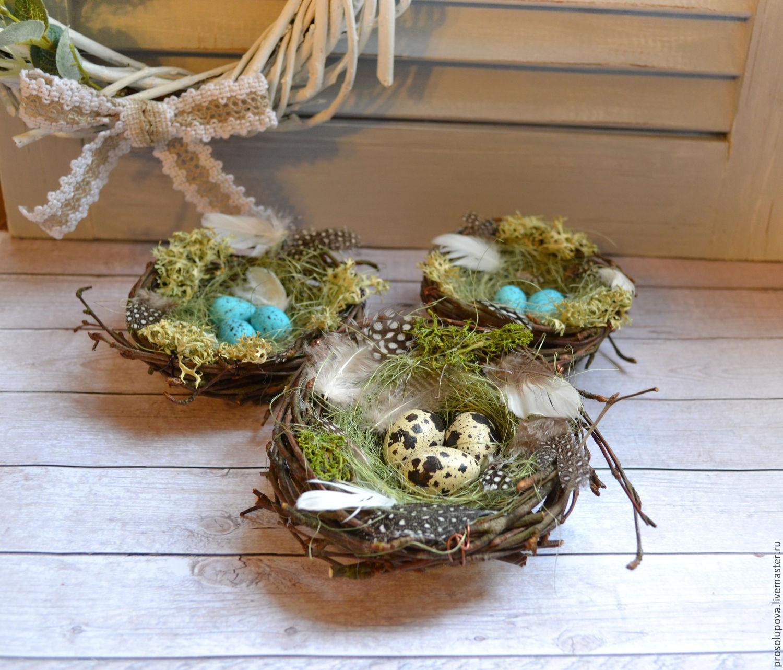 Nest easter shop online on livemaster with shipping easter gifts handmade livemaster handmade buy nest eastereaster easter souvenir negle Images