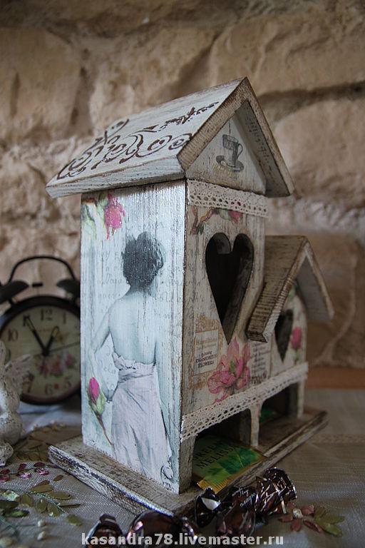 """Кухня ручной работы. Ярмарка Мастеров - ручная работа. Купить Чайный домик """"Загадочная Незнакомка"""". Handmade. Домик для чая"""