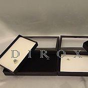 Материалы для творчества ручной работы. Ярмарка Мастеров - ручная работа Планшет (коробка, органайзер) для колец с прозрачным окном. Handmade.