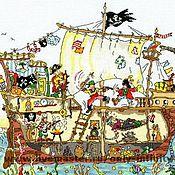 Картины и панно ручной работы. Ярмарка Мастеров - ручная работа Детская сказочная серия. Handmade.