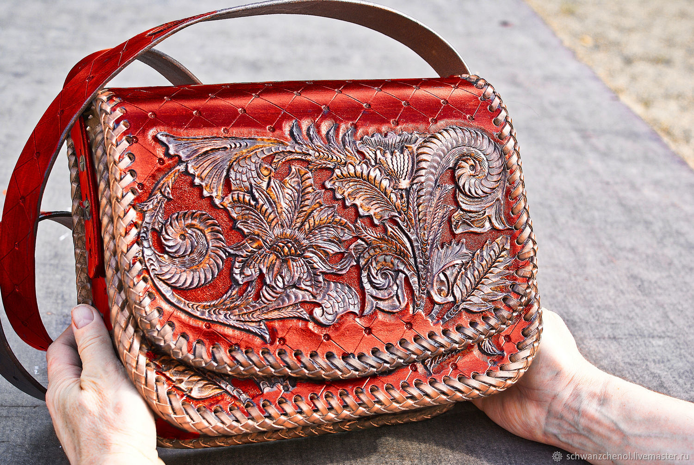 Women's leather bag 'Classic big' - color, Classic Bag, Krasnodar,  Фото №1