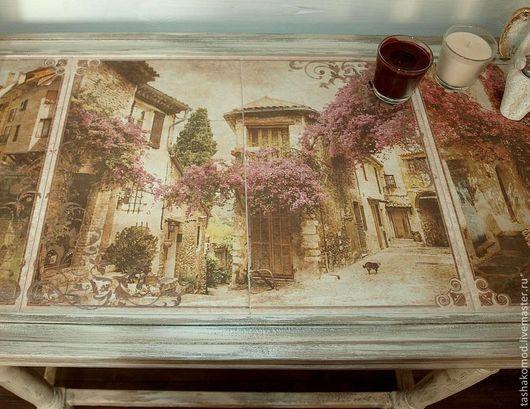 """Мебель ручной работы. Ярмарка Мастеров - ручная работа. Купить Стол (консольный стол)  """"Палермо"""""""". Handmade. Мебель для дома"""