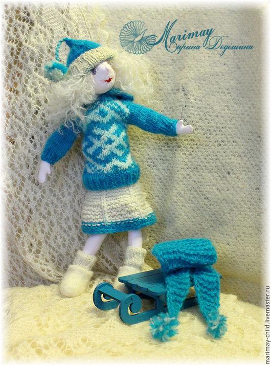 """Развивающие игрушки ручной работы. Ярмарка Мастеров - ручная работа. Купить Кукла """"Бирюсинка"""". Handmade. Кукла, игрушка"""