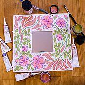 Для дома и интерьера ручной работы. Ярмарка Мастеров - ручная работа Декоративное зеркало. Handmade.