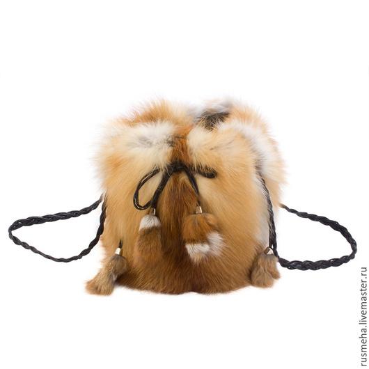 Женские сумки ручной работы. Ярмарка Мастеров - ручная работа. Купить Женская сумка из меха лисы (Код: 11006). Handmade.