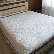 """Для дома и интерьера ручной работы. Ярмарка Мастеров - ручная работа одеяло """"Шепот весной"""". Handmade."""