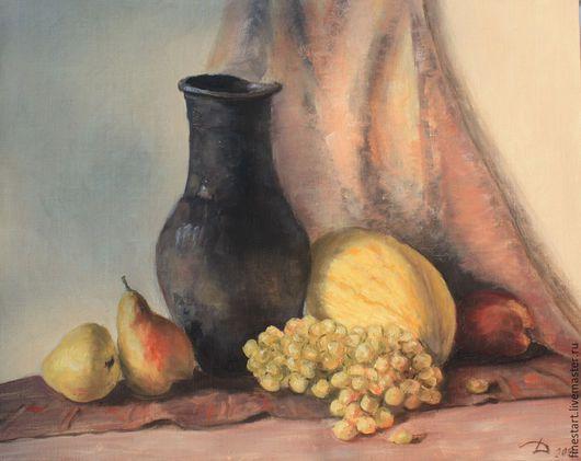 Картина маслом натюрморт Июль . Рустик Картина масло в подарок Купить картину маслом  Масло картины