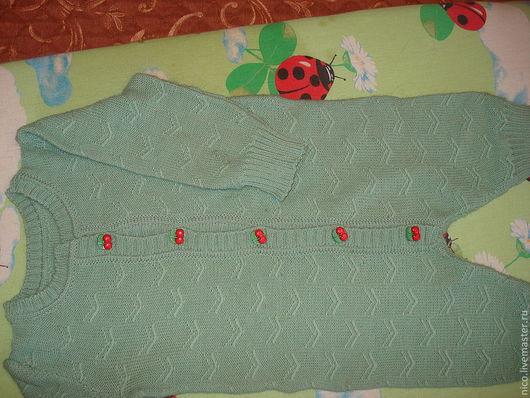 Одежда ручной работы. Ярмарка Мастеров - ручная работа. Купить комбинезон для малышей. Handmade. Орнамент, комбинезон для мальчика, шерсть