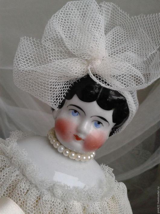 Винтажные куклы и игрушки. Ярмарка Мастеров - ручная работа. Купить Антикварная кукла производства 1880-1910гг.. Handmade. Антикварная кукла