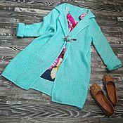 Одежда ручной работы. Ярмарка Мастеров - ручная работа Летнее  пальто. Handmade.