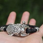Decorations handmade. Livemaster - original item Silver beast bracelet. Handmade.