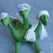 Куклы и игрушки ручной работы. Ярмарка Мастеров - ручная работа Дракон семейный. Handmade.