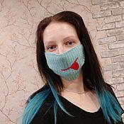 Защитные маски ручной работы. Ярмарка Мастеров - ручная работа Защитные маски. Маски. Не медицинские маски. Вязаные маски. Handmade.