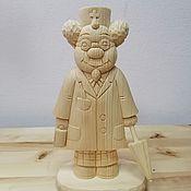 Для дома и интерьера handmade. Livemaster - original item The statuette from cedar wood,