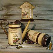 """Для дома и интерьера ручной работы. Ярмарка Мастеров - ручная работа Набор """"Сливовая ветвь""""  Бронь. Handmade."""