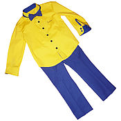 Работы для детей, handmade. Livemaster - original item Suit dudes. Handmade.