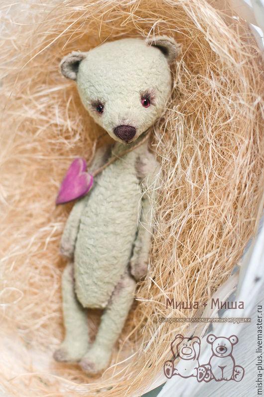 Мишки Тедди ручной работы. Ярмарка Мастеров - ручная работа. Купить Верю в любовь.... Handmade. Серый, тедди мишка