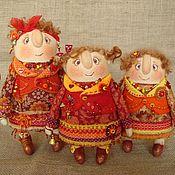 Куклы и игрушки ручной работы. Ярмарка Мастеров - ручная работа Три осени. Handmade.