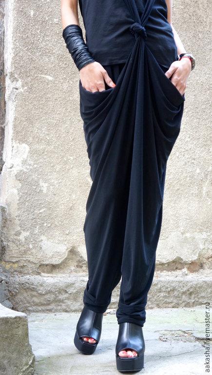 Брюки, летние брюки, легике брюки, черные брюки