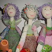 Куклы и игрушки ручной работы. Ярмарка Мастеров - ручная работа Садовые феечки. Handmade.