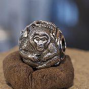 Материалы для творчества handmade. Livemaster - original item Snow monkey charm. Handmade.