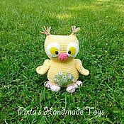 Куклы и игрушки ручной работы. Ярмарка Мастеров - ручная работа Сова Плюшка. Handmade.