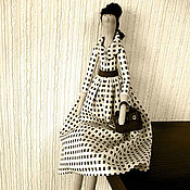 Куклы и игрушки ручной работы. Ярмарка Мастеров - ручная работа Поклонница Одри Хепберн. Handmade.