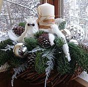 Подарки к праздникам ручной работы. Ярмарка Мастеров - ручная работа Зима в лесу. Handmade.