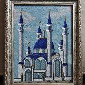 """Картины и панно ручной работы. Ярмарка Мастеров - ручная работа Вышивка бисером """"Мечеть Кул Шариф"""". Handmade."""