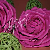 Цветы и флористика ручной работы. Ярмарка Мастеров - ручная работа Розы из фоамирана. Handmade.