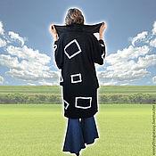 """Одежда ручной работы. Ярмарка Мастеров - ручная работа Тёплый асимметричный кардиган """"Нерассказанные истории"""". Handmade."""