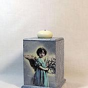 Для дома и интерьера handmade. Livemaster - original item Box-candle holder