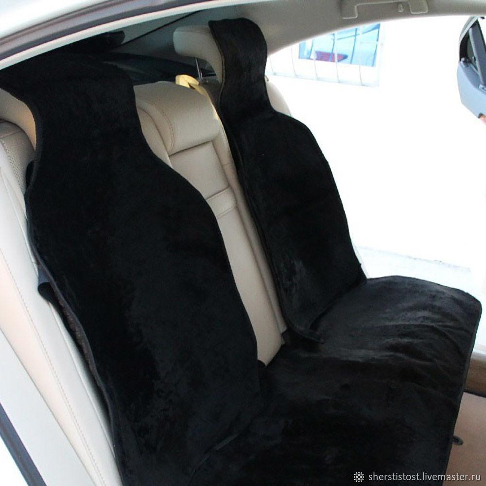 Накидки на задние сидения в автомобиль цельные (комплект 3 шт), Автомобильные сувениры, Нальчик,  Фото №1
