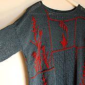 """Одежда ручной работы. Ярмарка Мастеров - ручная работа Джемпер """"Гербарий"""". Handmade."""