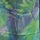 """Шарфы и шарфики ручной работы. Ярмарка Мастеров - ручная работа. Купить Шелковый шарф """" Бирюза"""".. Handmade. Бирюзовый"""