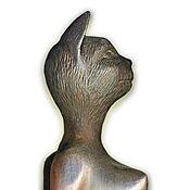 Для дома и интерьера ручной работы. Ярмарка Мастеров - ручная работа Богиня Баст, Cat-goddess. Handmade.