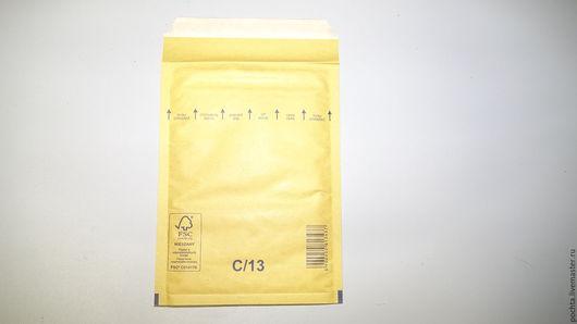 Упаковка ручной работы. Ярмарка Мастеров - ручная работа. Купить Пакет С/13  150х215 (170х225)с воздушно-пузырьковой пленкой. Handmade.