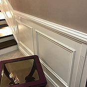 Для дома и интерьера ручной работы. Ярмарка Мастеров - ручная работа Панели белая  классика на стену из мдф. Handmade.