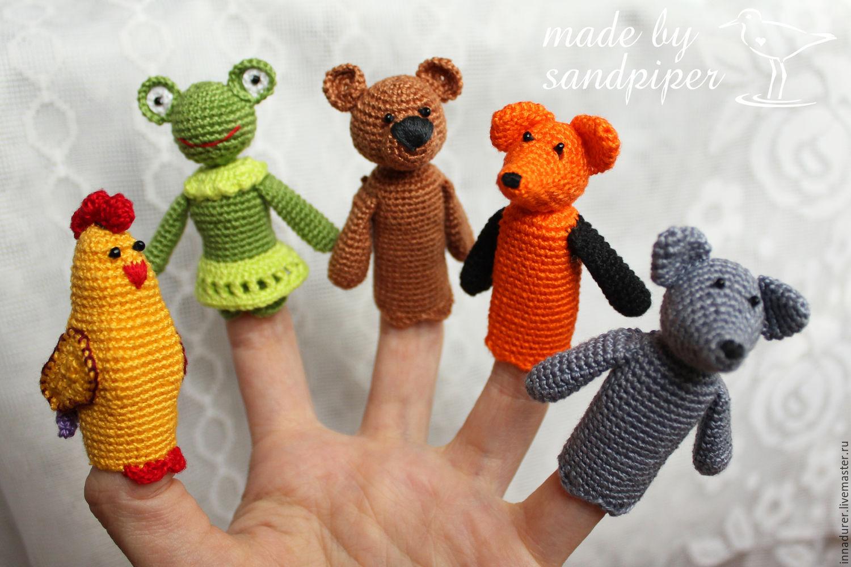 пальчиковые игрушки схемы крючком