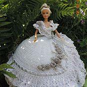 Вязание крючком для барби свадебное платье 34