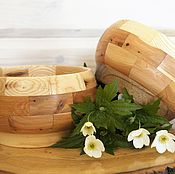 Утварь ручной работы. Ярмарка Мастеров - ручная работа Ваза пиалушка большая. деревянная пиала, пиала для конфет. Handmade.