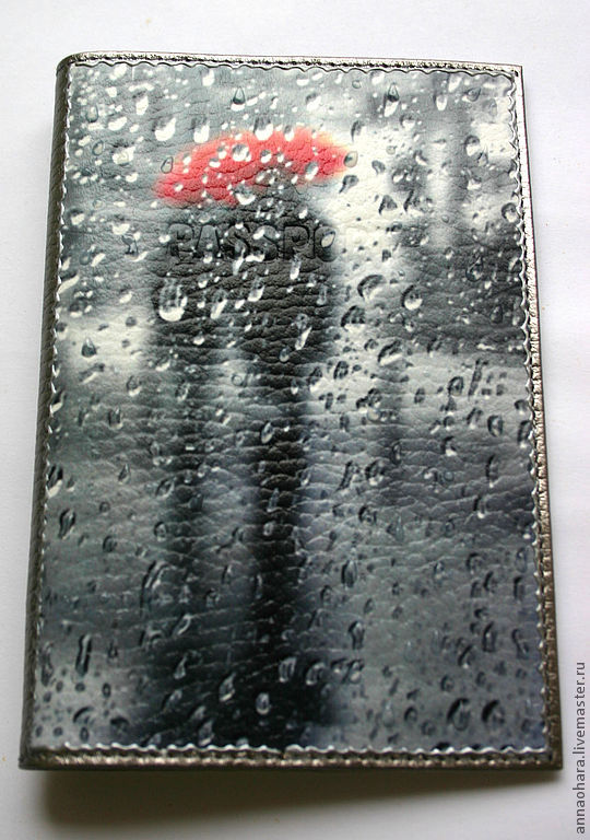 Passport cover One Rain for two, Passport cover, St. Petersburg,  Фото №1