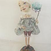 Куклы и игрушки ручной работы. Ярмарка Мастеров - ручная работа Венецианская куртизанка Элеттра-Лучиана. Handmade.