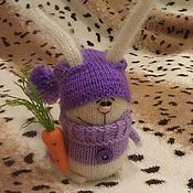 Куклы и игрушки ручной работы. Ярмарка Мастеров - ручная работа Заяс и морковка. Handmade.